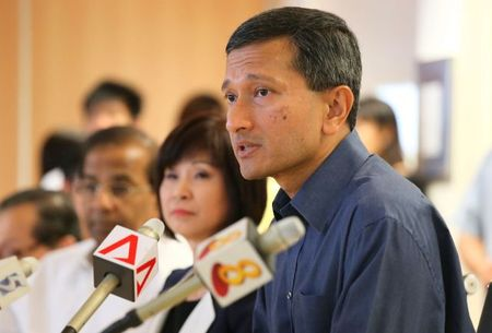 Singapore va Trung Quoc tim cach giam thieu nguy co xung dot o Bien Dong - Anh 1