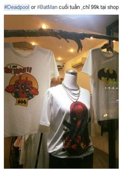Phu kien an theo bom tan 'Deadpool' duoc rao ban khap noi - Anh 1