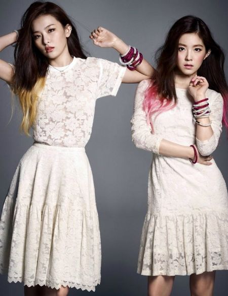 Thanh vien Red Velvet bi chi trich choi troi khi du tiec cuoi - Anh 2