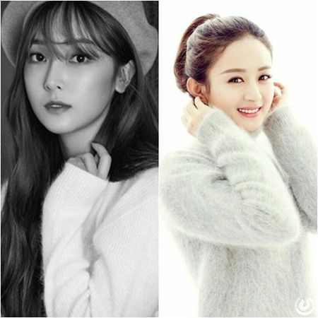 Jessica chung cong ty voi Trieu Le Dinh, tung album doi dau SNSD - Anh 1