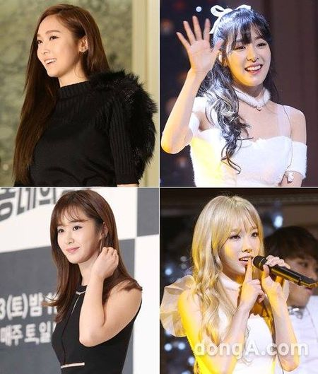 Jessica chung cong ty voi Trieu Le Dinh, tung album doi dau SNSD - Anh 2