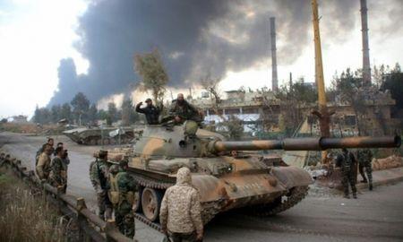 Quan doi Syria mo lai tuyen duong tiep van dan den Aleppo [VIDEO] - Anh 1