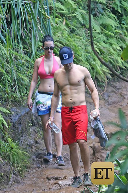 Katy Perry va Orlando Bloom cong khai hen ho tai Hawaii - Anh 2