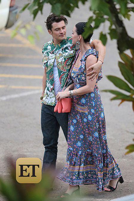 Katy Perry va Orlando Bloom cong khai hen ho tai Hawaii - Anh 4