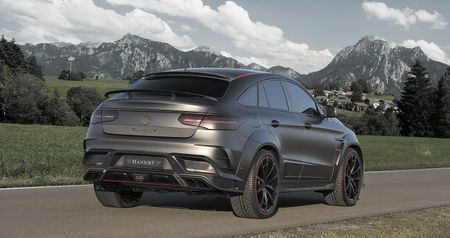 Mercedes GLE63 AMG Coupe do cong suat 828 ma luc - Anh 3