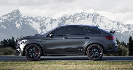 Mercedes GLE63 AMG Coupe do cong suat 828 ma luc - Anh 4