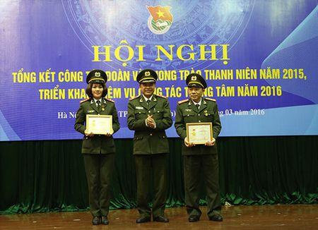 Doan Thanh nien Tong cuc Hau can – Ky thuat trien khai nhiem vu cong tac trong tam nam 2016 - Anh 1