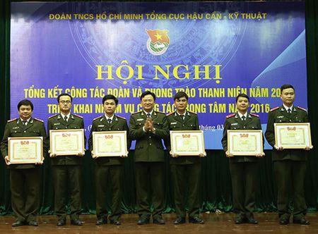 Doan Thanh nien Tong cuc Hau can – Ky thuat trien khai nhiem vu cong tac trong tam nam 2016 - Anh 2