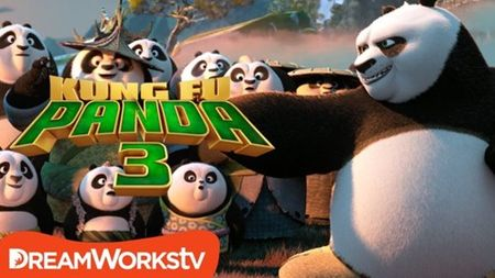 """Kungfu Panda 3"": Khi gau Po tro lai va con loi hai hon xua - Anh 1"