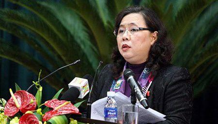 Gioi thieu Chu tich HDND Thanh pho Ha Noi ung cu DBQH - Anh 1