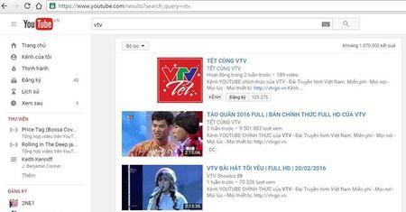 "VTV thua nhan ""sao chep"" sau khi bi dung hoat dong kenh Youtube - Anh 1"