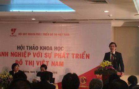 Hoi thao Doanh nghiep voi su Phat trien Do thi Viet Nam - Anh 1