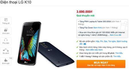 LG Viet Nam ban K10 gia 3,7 trieu - Anh 2