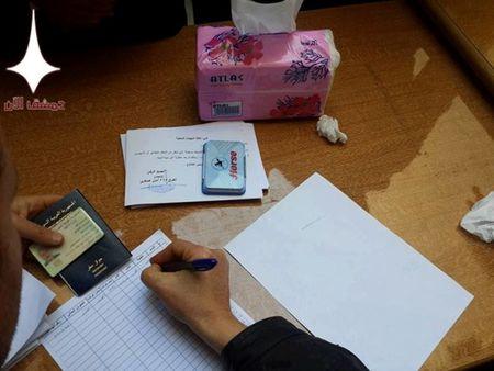1200 nguoi roi khoi thi tran cua quan phien loan o mien nam Syria - Anh 2