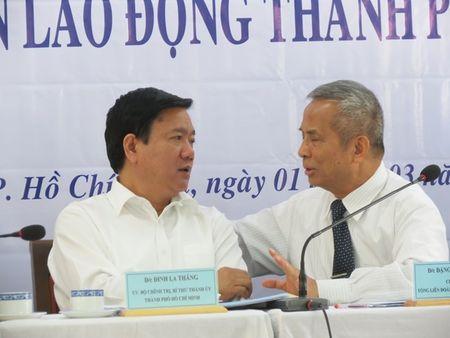 Bi thu Thanh uy TPHCM Dinh La Thang: 'Phai tap trung nang cao chat luong can bo cong doan de bao ve quyen loi nguoi lao dong' - Anh 3