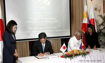 Nhat Ban chuyen giao thiet bi quoc phong cho Philippines - Anh 1