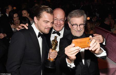 Leonardo DiCaprio tiec tung mung chien thang Oscar - Anh 2
