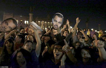 Leonardo DiCaprio tiec tung mung chien thang Oscar - Anh 4