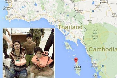 Ngu dan Campuchia cuong hiep du khach Phap - Anh 1