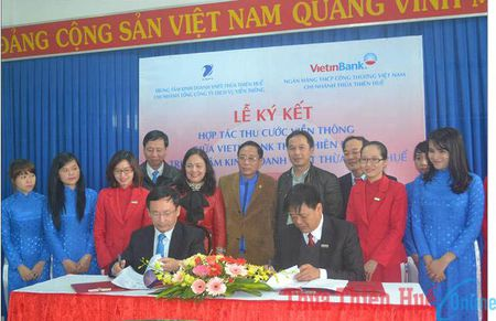 VNPT Thua Thien Hue: Vietinbank se thu ho cuoc vien thong tu 1/3/2016 - Anh 1
