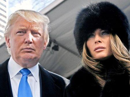 Melania - my nhan 'dau goi tay ap' ben 'ong trum' Donald Trump - Anh 1