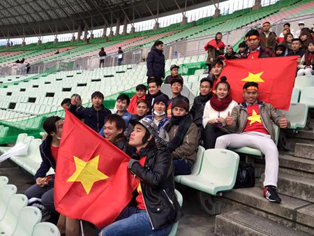 CDV Viet Nam den san tiep lua cho DT nu Viet Nam tai Nhat Ban - Anh 2