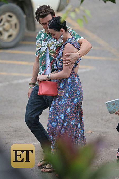 Orlando Bloom - Katy Perry cong khai hen ho o Hawaii - Anh 1