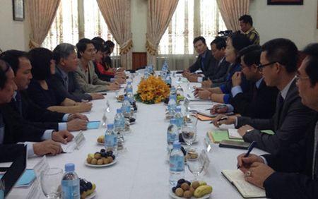 Viet Nam-Campuchia trao doi kinh nghiem phap luat va tu phap - Anh 1