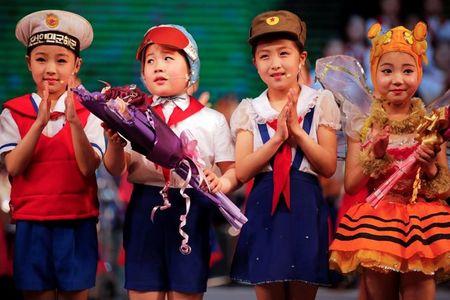 Nhung guong mat hon nhien cua tre em Trieu Tien - Anh 15