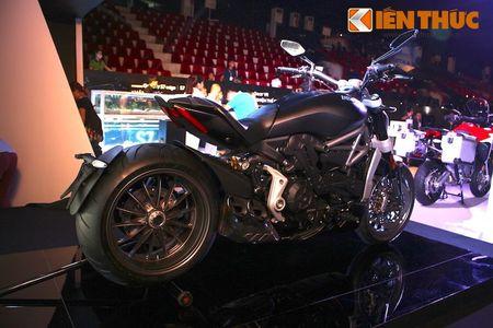 Can canh moto dep nhat The gioi Ducati XDiavel tai Ha Noi - Anh 12