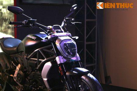 Can canh moto dep nhat The gioi Ducati XDiavel tai Ha Noi - Anh 3