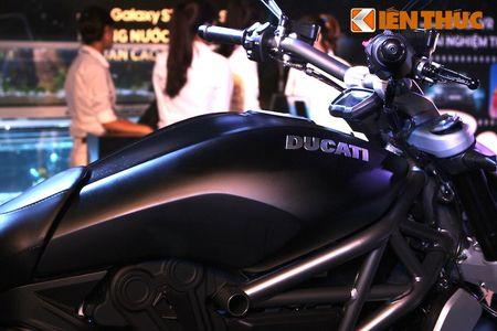 Can canh moto dep nhat The gioi Ducati XDiavel tai Ha Noi - Anh 5