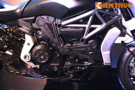 Can canh moto dep nhat The gioi Ducati XDiavel tai Ha Noi - Anh 8