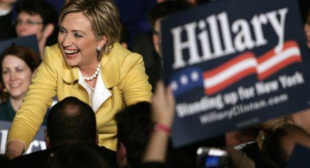 15 buc anh an tuong ve ba Hillary Clinton - Anh 11