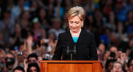 15 buc anh an tuong ve ba Hillary Clinton - Anh 12