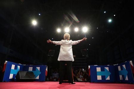 15 buc anh an tuong ve ba Hillary Clinton - Anh 15