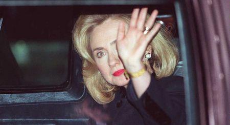 15 buc anh an tuong ve ba Hillary Clinton - Anh 6