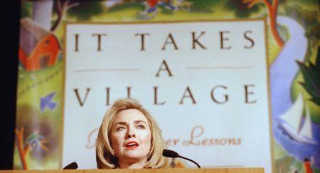 15 buc anh an tuong ve ba Hillary Clinton - Anh 7