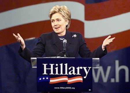 15 buc anh an tuong ve ba Hillary Clinton - Anh 8