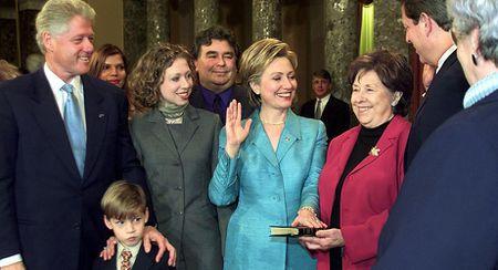 15 buc anh an tuong ve ba Hillary Clinton - Anh 9