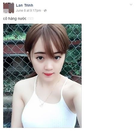 Hot girl ban tra da di xe hop o Thai Nguyen gay sot - Anh 1