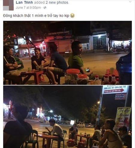 Hot girl ban tra da di xe hop o Thai Nguyen gay sot - Anh 2