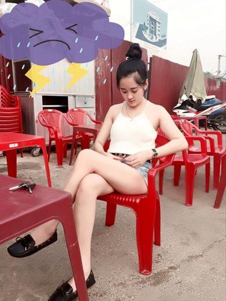 Hot girl ban tra da di xe hop o Thai Nguyen gay sot - Anh 3