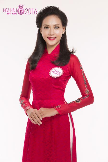 Lo dien thi sinh cao nhat vong chung khao phia Nam Hoa hau Viet Nam 2016 - Anh 1