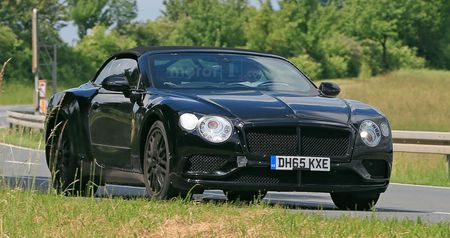 Bentley Continental GT Convertible the he moi lan dau lo dien - Anh 1