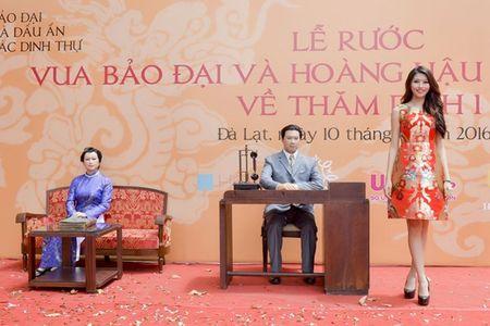 Quynh Chau, Nguyen Thi Loan du le ruoc tuong vua Bao Dai va hoang hau Nam Phuong - Anh 2