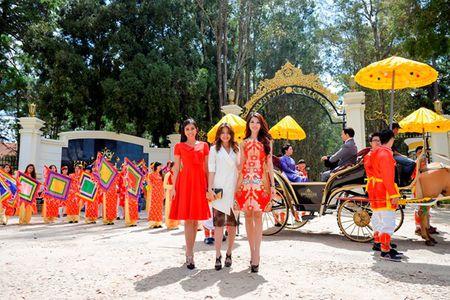 Quynh Chau, Nguyen Thi Loan du le ruoc tuong vua Bao Dai va hoang hau Nam Phuong - Anh 4