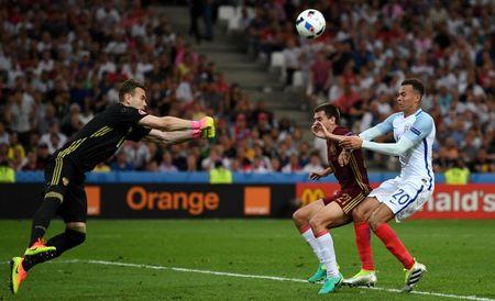 Anh vs Nga (1-0, hiep 2): Eric Dier mo ty so - Anh 1