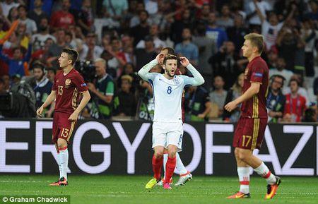 Anh vs Nga (1-0, hiep 2): Eric Dier mo ty so - Anh 6