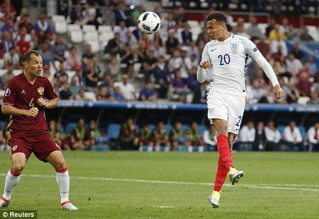 Anh vs Nga (1-0, hiep 2): Eric Dier mo ty so - Anh 7